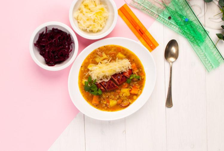 Zupa grochowa z mega twistem